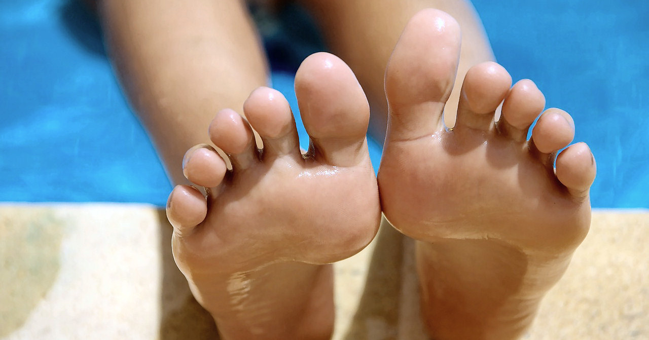 Hornhautfreie Füße
